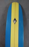 "Prancha de Surf Funboard Zamplo 8'0"" Seminova"