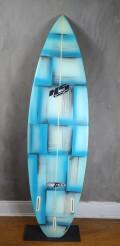 "Prancha de Surf Hs Paulo Rabello 6'2"" Azul Seminova"
