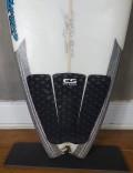 "Prancha de Surf Rip Wave 5'9"" Branca Seminova"