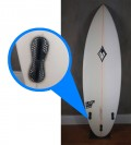 "Prancha de Surf SilverBay 5'11"" Seminova"
