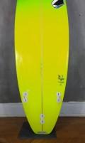 Prancha de Surf Zampol 5'11 Verde Seminova