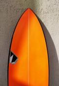 "Prancha de Surf Zampol 6'0"" Laranja Seminova"