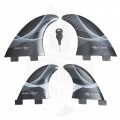 Quilhas Expans Line Up Quad - Preta