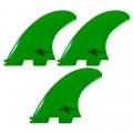 Quilhas Encaixe FCS2 Expans Média Verde