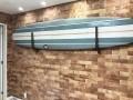 Rack de Madeira Tipo U para Prancha de Surf