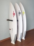 Rack Para 3 Pranchas de Surf - Vertical - Madeira | Prancharia