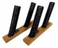 Suporte Para 2 Skates ou Skates Longboard - Horizontal 45º | Prancharia